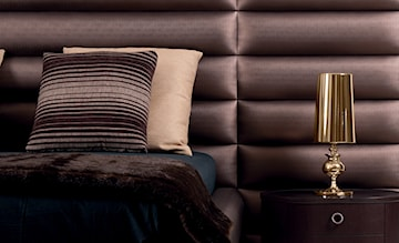 Sofy, fotele, zagłówki łóżek: poziome i pionowe pikowanie na topie
