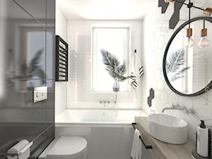 Łazienka w mieszkaniu na sprzedaż - zdjęcie od Katarzyna Gruca Pracownia Kreacji