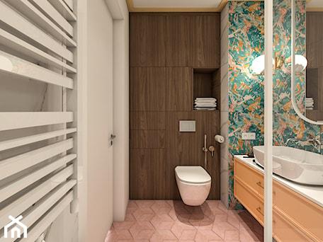 Aranżacje wnętrz - Łazienka: Apartament WolaRe - Łazienka, styl nowoczesny - LÄTT Studio Wnętrz. Przeglądaj, dodawaj i zapisuj najlepsze zdjęcia, pomysły i inspiracje designerskie. W bazie mamy już prawie milion fotografii!