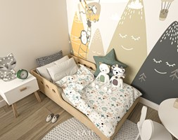 Dom III, Łódź - Pokój dziecka, styl nowoczesny - zdjęcie od LÄTT Studio Wnętrz - Homebook