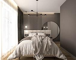 Dom III, Łódź - Sypialnia, styl nowoczesny - zdjęcie od LÄTT Studio Wnętrz - Homebook