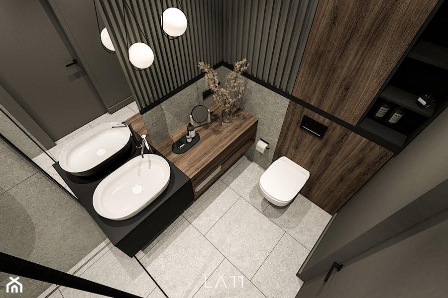 Apartament Lekka - Łazienka, styl minimalistyczny - zdjęcie od LÄTT Studio Wnętrz