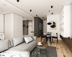 Apartament Lekka - Salon, styl minimalistyczny - zdjęcie od LÄTT Studio Wnętrz - Homebook