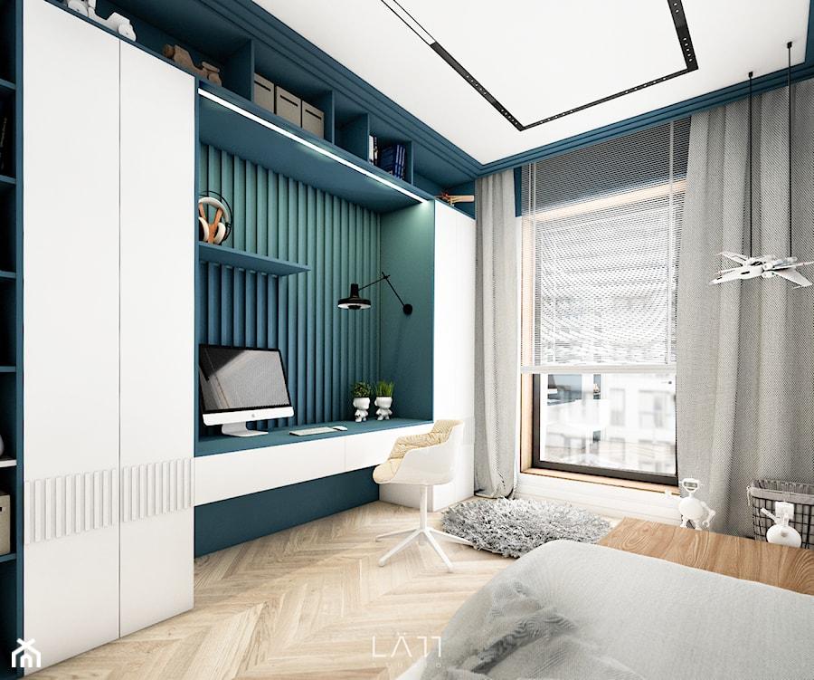 Pokój 8 - latka - Pokój dziecka, styl nowoczesny - zdjęcie od LÄTT Studio Wnętrz