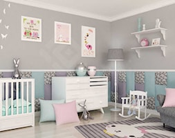 Pokój dziecka z miękką ścianą - zdjęcie od dappi panele dekoracyjne