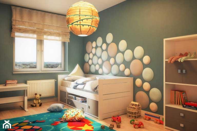 2acedd0a Pokój dla dziecka - zdjęcie od dappi panele dekoracyjne - homebook