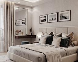 Apartament Karolkowa - Sypialnia, styl art deco - zdjęcie od Aleksandra Wachowicz - Homebook