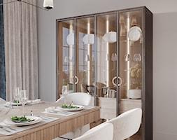 Aleja Lipowa - Jadalnia, styl nowojorski - zdjęcie od Aleksandra Wachowicz Architektura Wnętrz - Homebook