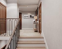 Aleja Lipowa - Schody, styl nowojorski - zdjęcie od Aleksandra Wachowicz Architektura Wnętrz - Homebook