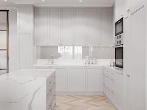 Apartament Sarmacka - Kuchnia, styl nowojorski - zdjęcie od Aleksandra Wachowicz