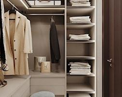 Apartament Karolkowa - Garderoba, styl art deco - zdjęcie od Aleksandra Wachowicz - Homebook