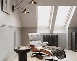 Aleja Lipowa - Sypialnia, styl nowojorski - zdjęcie od Aleksandra Wachowicz Architektura Wnętrz - Homebook