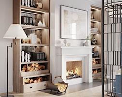 Aleja Lipowa - Salon, styl nowojorski - zdjęcie od Aleksandra Wachowicz Architektura Wnętrz - Homebook