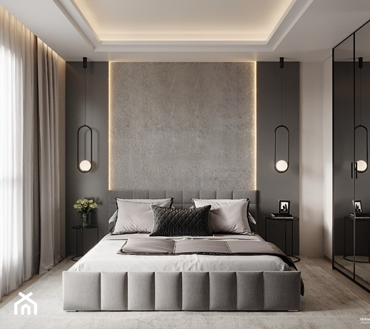 Ciemne meble w sypialni – jaki kolor ścian i dodatków do nich dobrać?