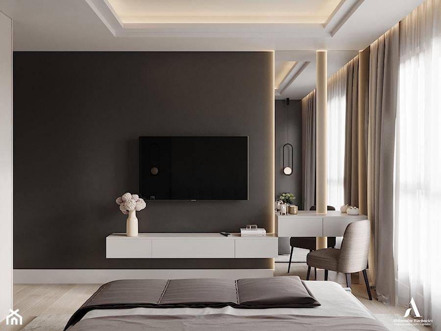 TV w sypialni