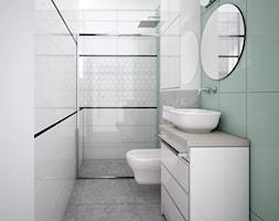 Łazienka na parterze - zdjęcie od IDS projektowanie wnętrz - Homebook