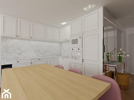 Aranżacje wnętrz - Kuchnia: Kuchnia Art Deco - IDS projektowanie wnętrz . Przeglądaj, dodawaj i zapisuj najlepsze zdjęcia, pomysły i inspiracje designerskie. W bazie mamy już prawie milion fotografii!