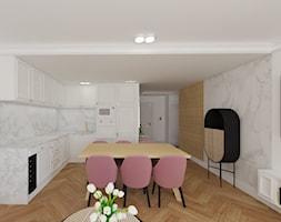 Mieszkanie 62m2, Gdańsk - Salon, styl art deco - zdjęcie od IDS projektowanie wnętrz - Homebook