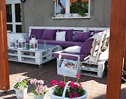 meble ogrodowe z palet nowe - zdjęcie od kowalstwokubala