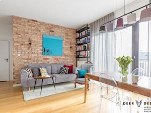 Dwupoziomowe mieszkanie w kolor ubrane