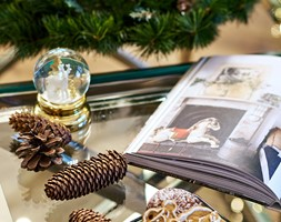 Klasyka w świątecznym wydaniu - Salon, styl skandynawski - zdjęcie od Deer Design - Homebook