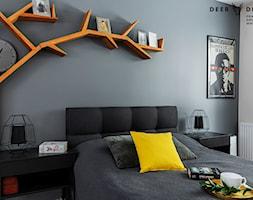 Przytulne mieszkanie w kolorach roku 2021 - Sypialnia, styl skandynawski - zdjęcie od Deer Design - Homebook