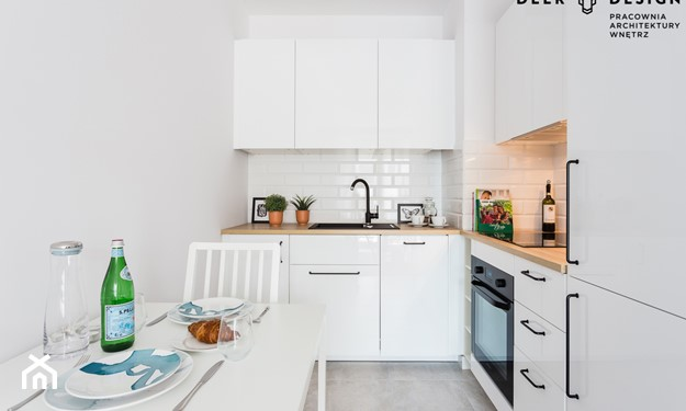wąskie kuchnie urządzanie porady