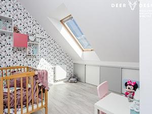 Dwupoziomowe mieszkanie w stylu skandynawskim