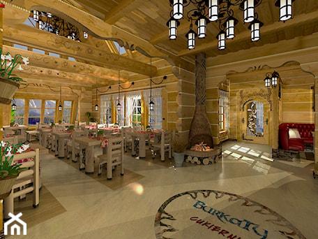 Aranżacje wnętrz - Wnętrza publiczne: Restauracja i Cukiernia Góralska - ARCHITEKT WNĘTRZ ASPROJEKT. Przeglądaj, dodawaj i zapisuj najlepsze zdjęcia, pomysły i inspiracje designerskie. W bazie mamy już prawie milion fotografii!
