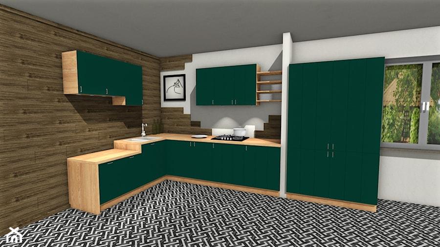 Zbiór koncepcji i pomysłów. - Kuchnia, styl prowansalski - zdjęcie od Studio_Merbau