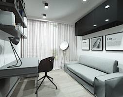 Pomysł na biuro w domu - zdjęcie od Pracownia Architektury i Wnętrz | Architekt Karolina Czech