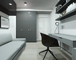 Biuro urządzone w Ikei - zdjęcie od Pracownia Architektury i Wnętrz | Architekt Karolina Czech