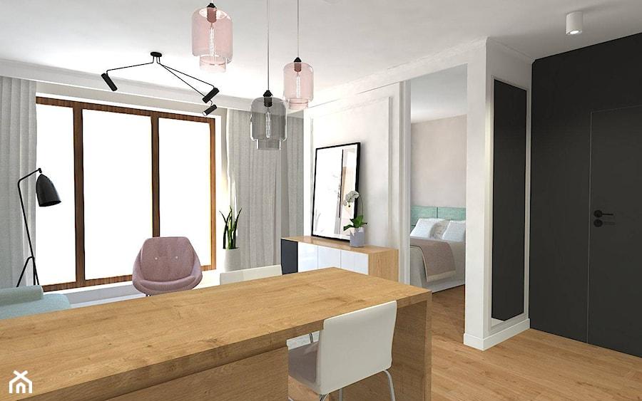 Aranżacje wnętrz - Kuchnia: pokój z aneksem - InteriorIdea. Przeglądaj, dodawaj i zapisuj najlepsze zdjęcia, pomysły i inspiracje designerskie. W bazie mamy już prawie milion fotografii!