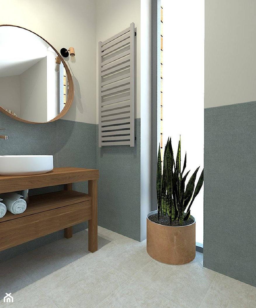 Łazienka dla gości - zdjęcie od InteriorIdea - Homebook