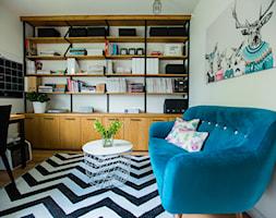 Blue - Biuro, styl nowoczesny - zdjęcie od Izabela Śmigórska - projektowanie wnętrz - Homebook