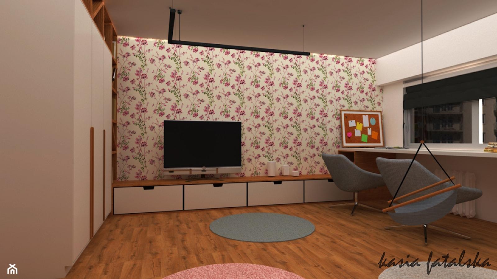 Mieszkanie w bloku z lat '70 - Pokój dziecka, styl nowoczesny - zdjęcie od kfprojekty - Homebook