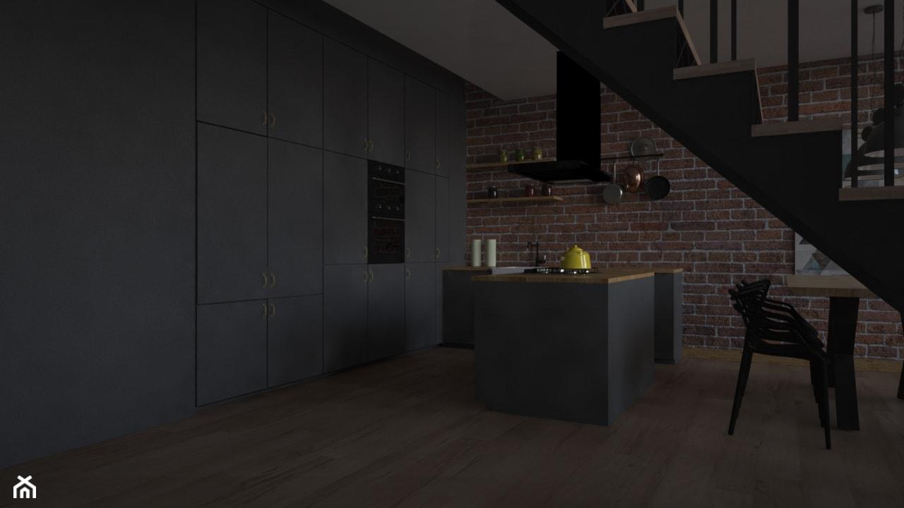 Loft - Kuchnia - zdjęcie od kfprojekty - Homebook