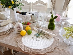 Inspiracje BelleMaison - Wielkanocny stół