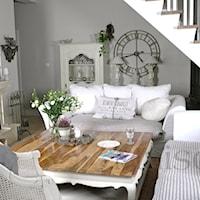 Aranżacja salonu - styl prowansalski, Style we wnętrzach, Salon