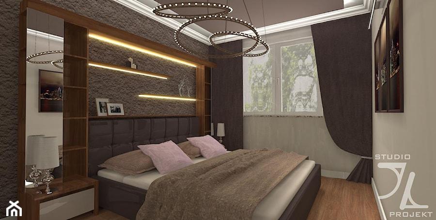 Sypialnia W Kolorze Brązu Zdjęcie Od Jlstudioprojekt