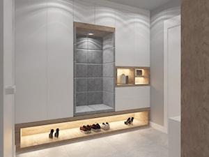 DOM W BIELI - Hol / przedpokój, styl nowoczesny - zdjęcie od VIVINO Studio