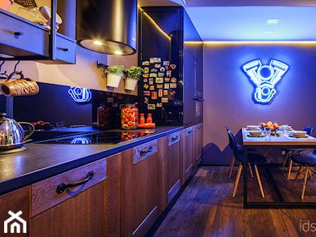 Aranżacje wnętrz - Kuchnia: Męskie wnętrze - magazyn wspomnień - Kuchnia - idsgn paulina olbrychowska. Przeglądaj, dodawaj i zapisuj najlepsze zdjęcia, pomysły i inspiracje designerskie. W bazie mamy już prawie milion fotografii!