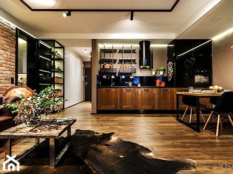 Aranżacje wnętrz - Kuchnia: Męskie wnętrze - magazyn wspomnień - Średnia kuchnia - idsgn paulina olbrychowska. Przeglądaj, dodawaj i zapisuj najlepsze zdjęcia, pomysły i inspiracje designerskie. W bazie mamy już prawie milion fotografii!