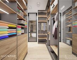 WARSZAWA RADOŚĆ - Garderoba, styl nowoczesny - zdjęcie od INVENTIVE studio - Homebook