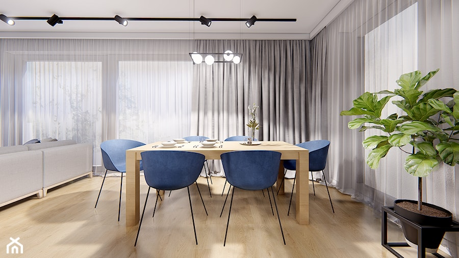 DOM POZNAŃ - Jadalnia, styl nowoczesny - zdjęcie od INVENTIVE studio