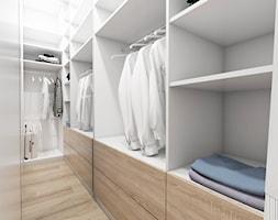 Żoli Żoli - Mała garderoba oddzielne pomieszczenie, styl minimalistyczny - zdjęcie od INVENTIVE studio
