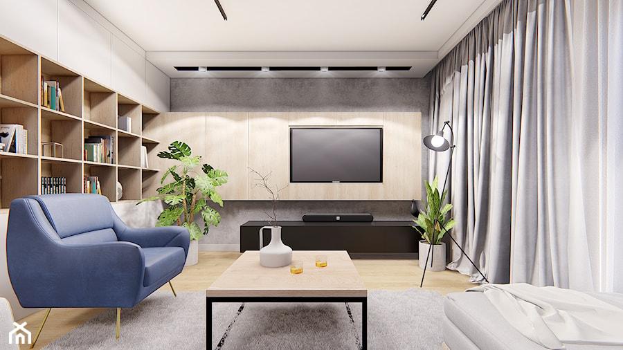 DOM POZNAŃ - Salon, styl nowoczesny - zdjęcie od INVENTIVE studio