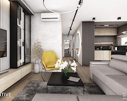 KRAKÓW - Salon, styl nowoczesny - zdjęcie od INVENTIVE studio - Homebook