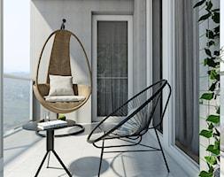 Żoli Żoli - Średni taras z tyłu domu, styl minimalistyczny - zdjęcie od INVENTIVE studio