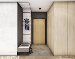 KRAKÓW - Hol / przedpokój, styl nowoczesny - zdjęcie od INVENTIVE studio - Homebook